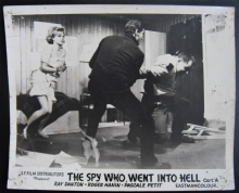 Spy Who Went into Hell - Vintage Movie Still